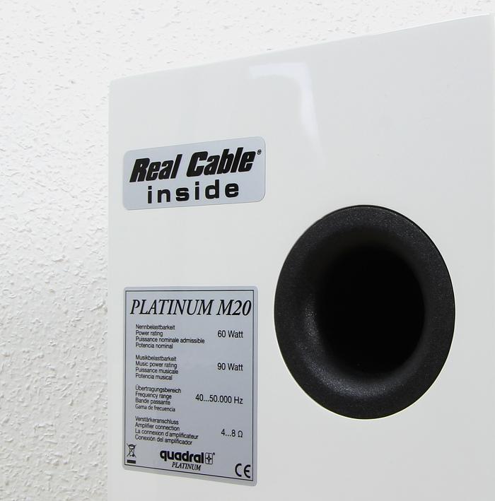 Quadral Platinum M20 Bassreflexrohr