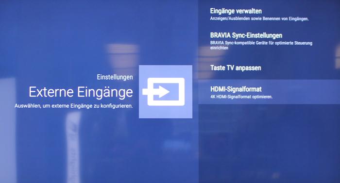 Sony_ZD9_einstellungen_externe_eingaenge