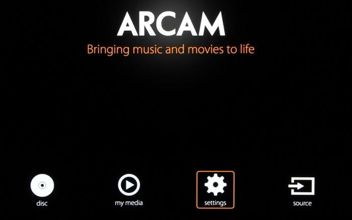 Arcam_Menue_1