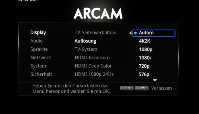 Arcam_Menue_4