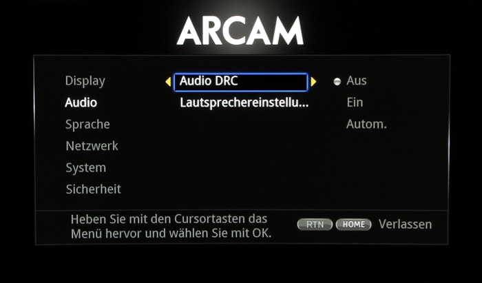 Arcam_Menue_6