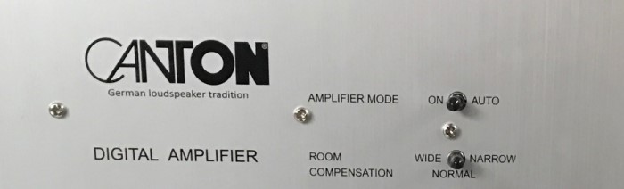 Canton SUB 601 back AmpMode_Room_Compensation
