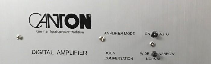 Canton SUB 601 back AmpMode_Room_Compensation