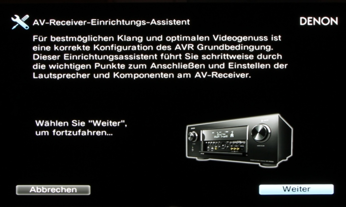 Denon AVR-X6300H Screenshot 2