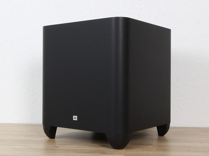 JBL-Cinema-SB450-Sub-Front-Seitlich