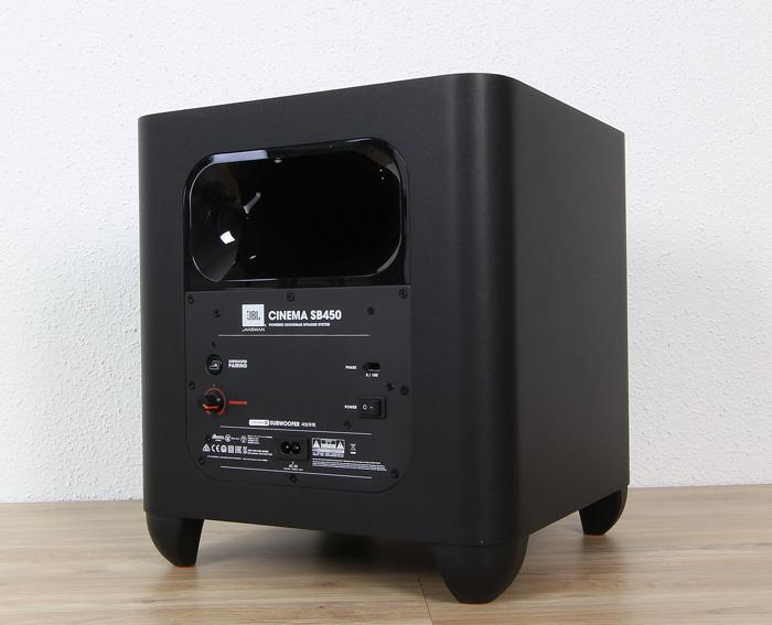 JBL-Cinema-SB450-Sub-Rueckseite-Seitlich