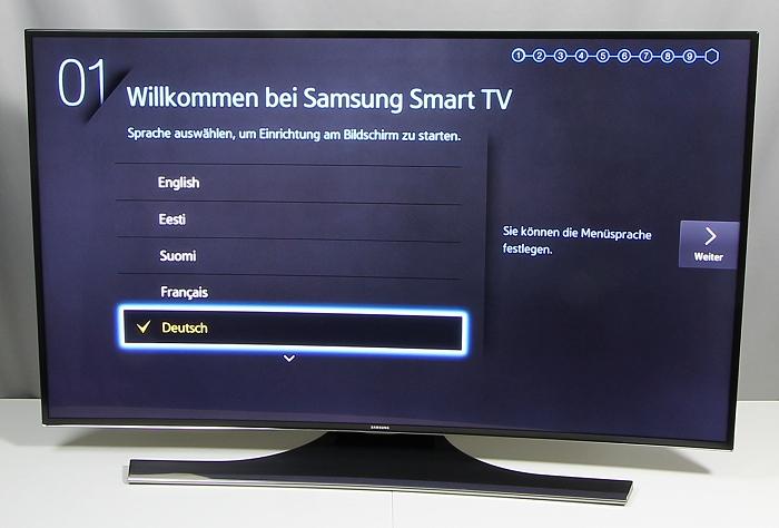 Samsung UE48H6890 Front Seitlich1