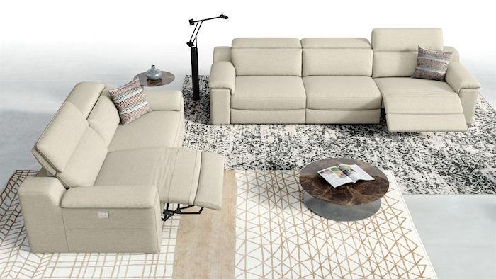 Sofanella XXL-Couch-Stoff-Macello