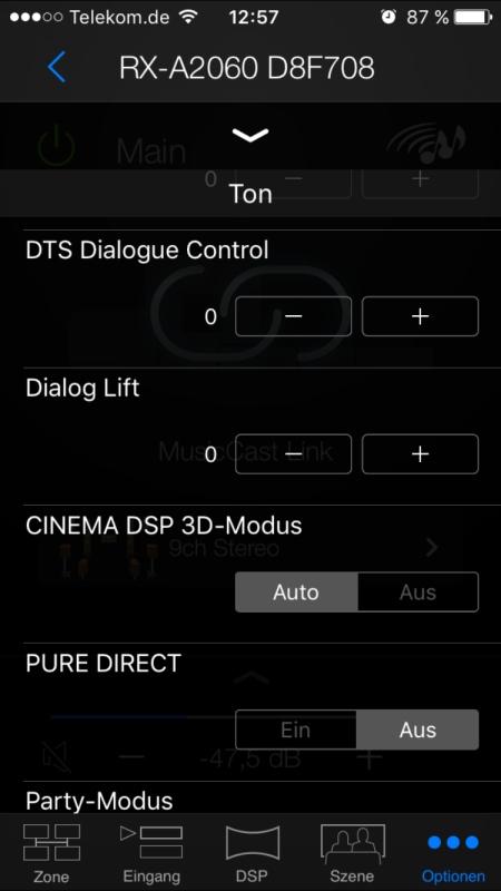 Yamaha AV Controller 9