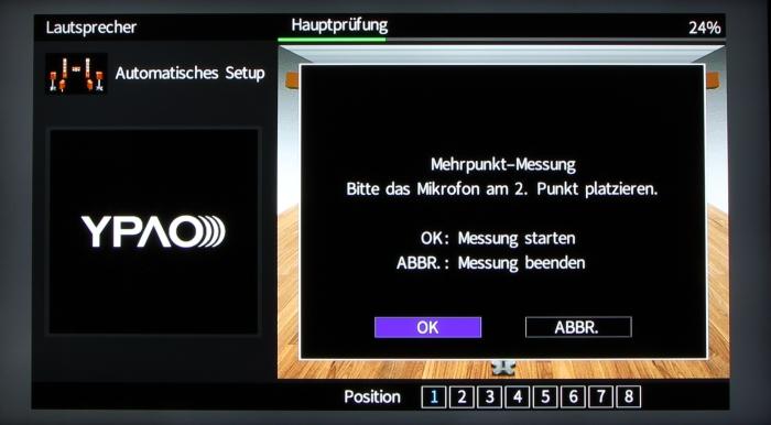 Yamaha RX-A2060 Screenshot 14