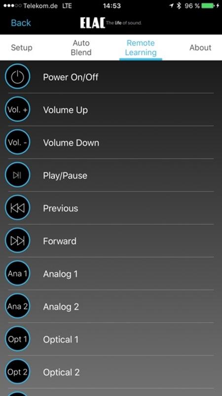 Elac App 10