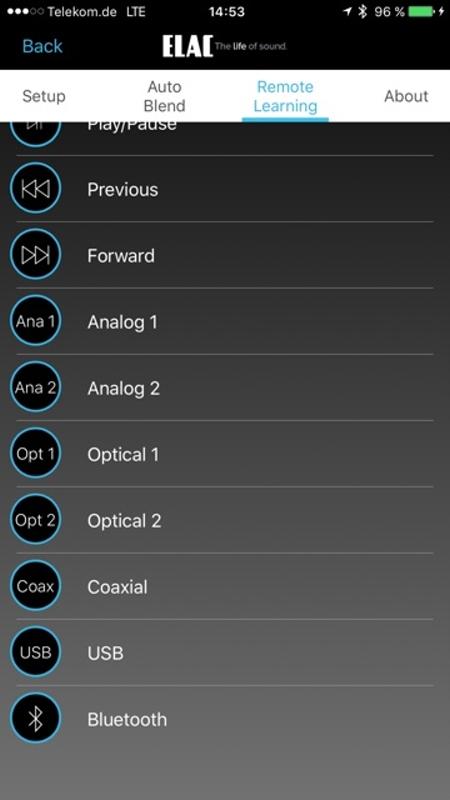 Elac App 11