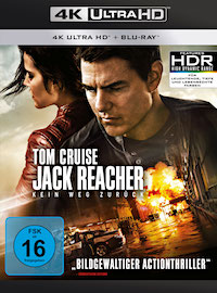 Jack Reacher Kein Weg zurueck Ultra HD Blu-ray