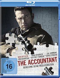 The Accountant Blu-ray Disc