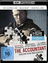 The Accountant Ultra HD Blu-ray