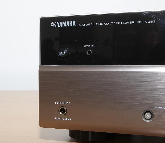 Yamaha RX-V383 Bedienelemente Front3