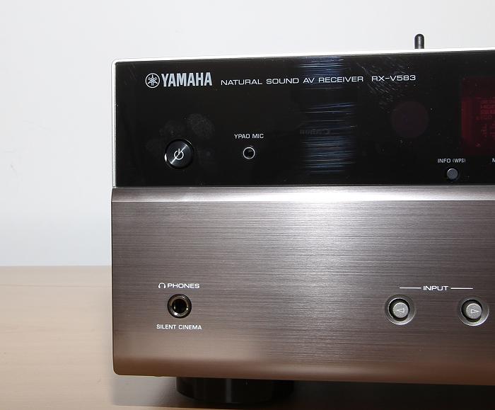 Yamaha RX-V583 Bedienelemente Front3