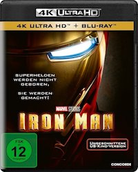 Iron Man Ultra HD Blu-ray