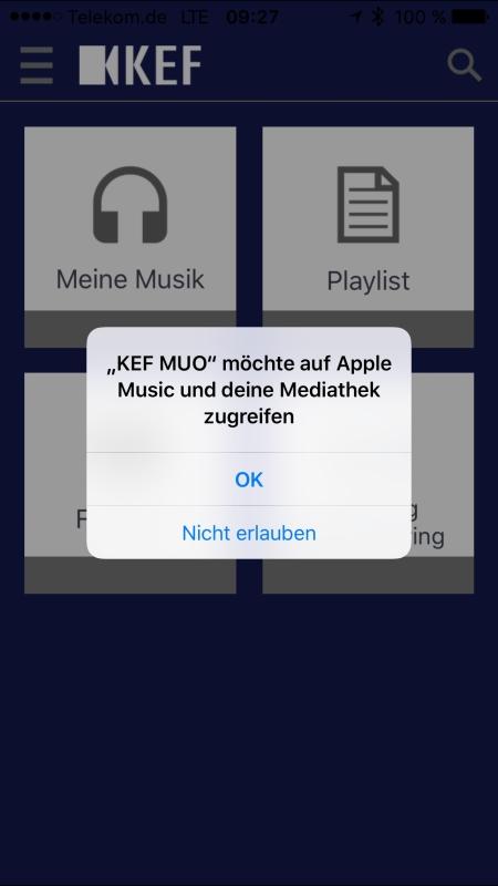 KEF Muo App 2