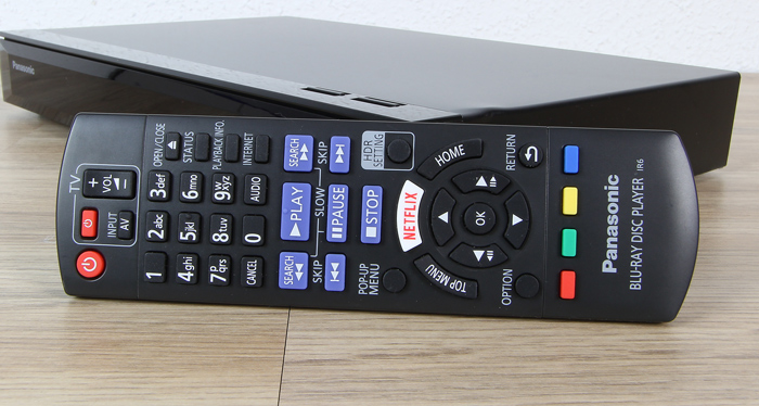 Panasonic-DMP-UB404-Fernbedienung