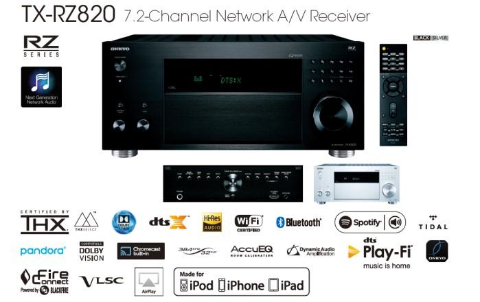 Onkyo TX-RZ820 Features