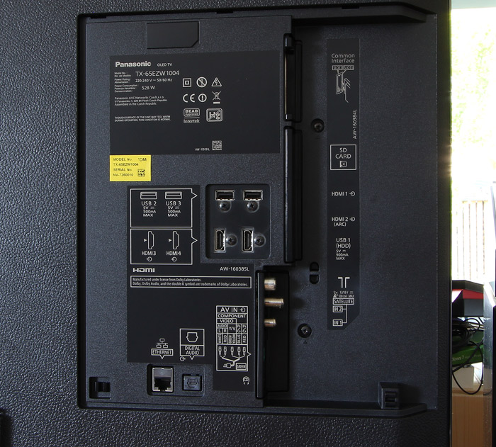Panasonic-TX-65EZW1004-Anschluesse-Rueckseite
