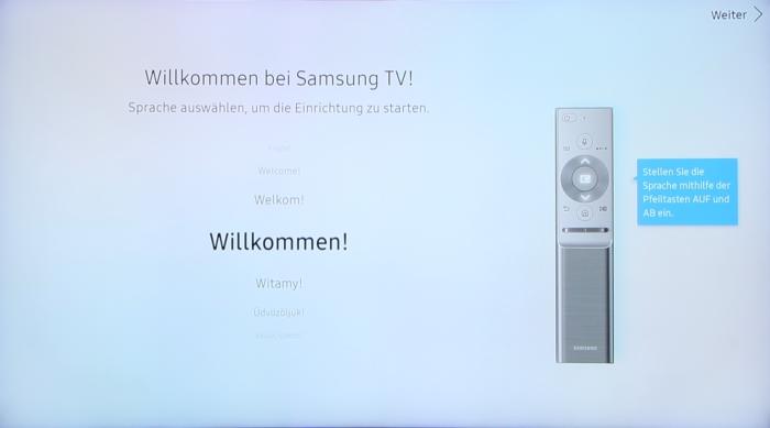 Samsung QE65Q8CGM Screenshot 1