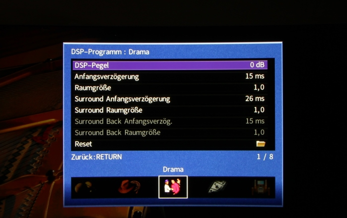 Yamaha RX-A870 Screenshot 13