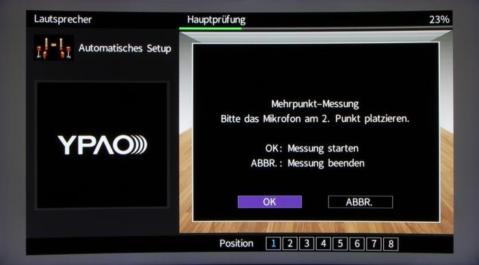 Yamaha RX-A870 Screenshot 5