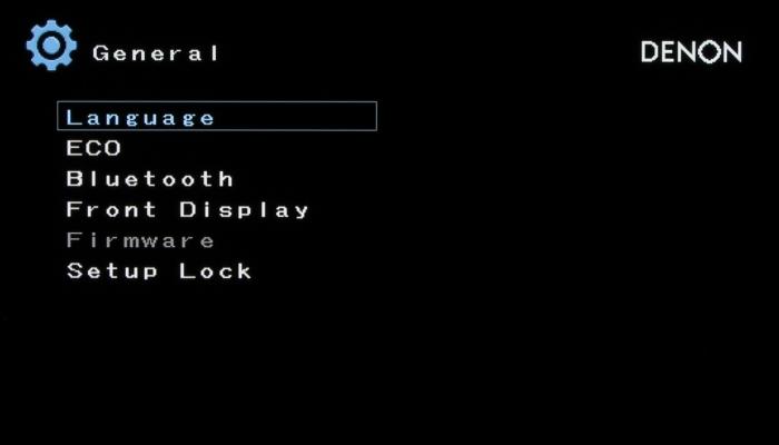 Denon AVR-X5400BT Screenshot 16