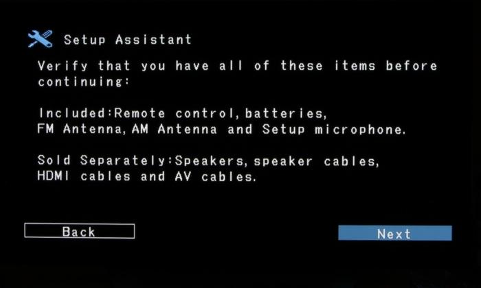 Denon AVR-X5400BT Screenshot 4