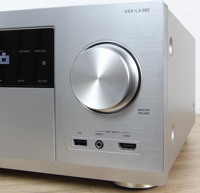 Pioneer-VSX-LX302-Bedienelemente-Front1