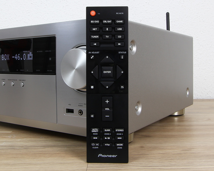Pioneer-VSX-LX302-Fernbedienung
