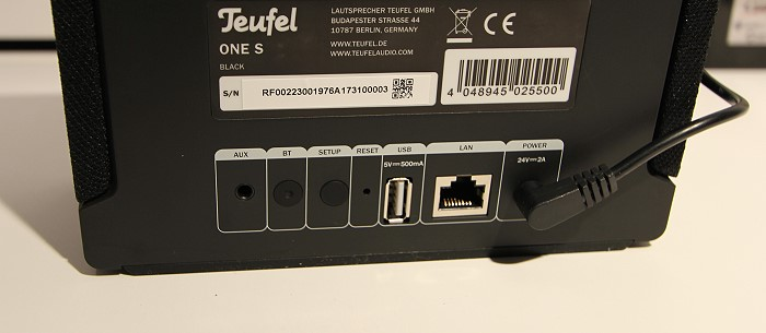 Teufel_One_S_anschluesse