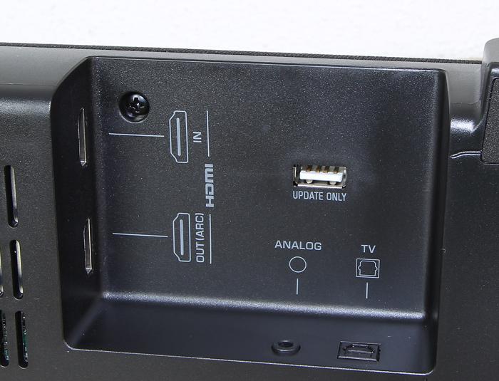 Yamaha-YAS-207-Soundbar-Anschluesse