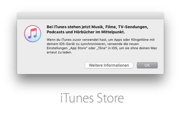 Apple iTunes 127