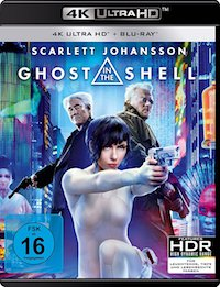 Ghost in the Shell Ultra HD Blu-ray