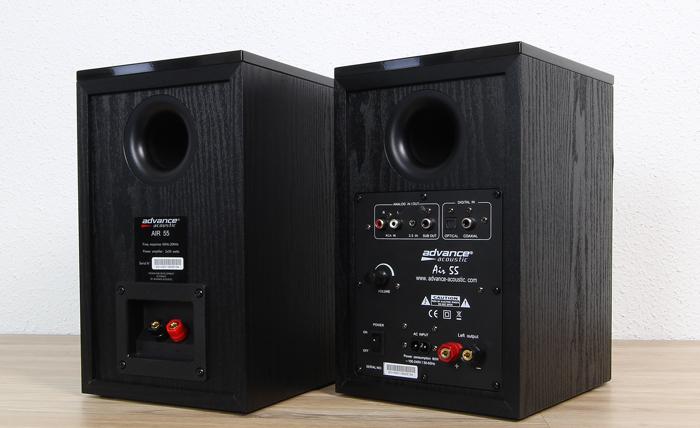Advance-Acoustic-Air-55-Rueckseite