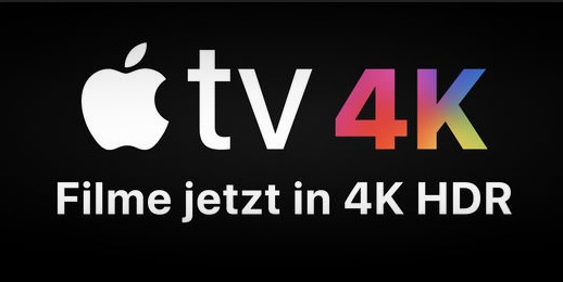 Apple TV 4k HDR Filme