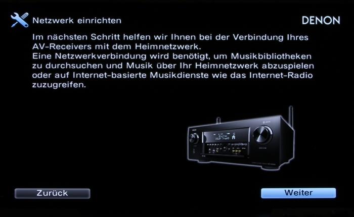 Denon AVR-X6400H Screenshot 11