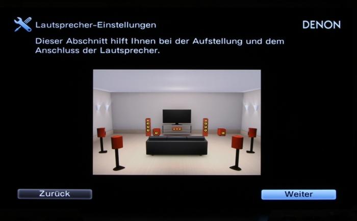 Denon AVR-X6400H Screenshot 3