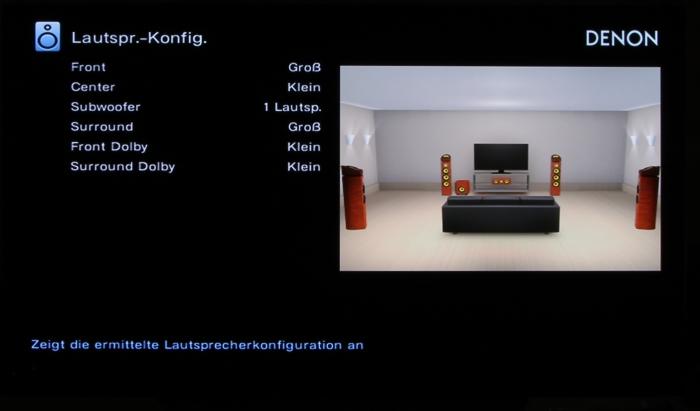 Denon AVR-X6400H Screenshot 8