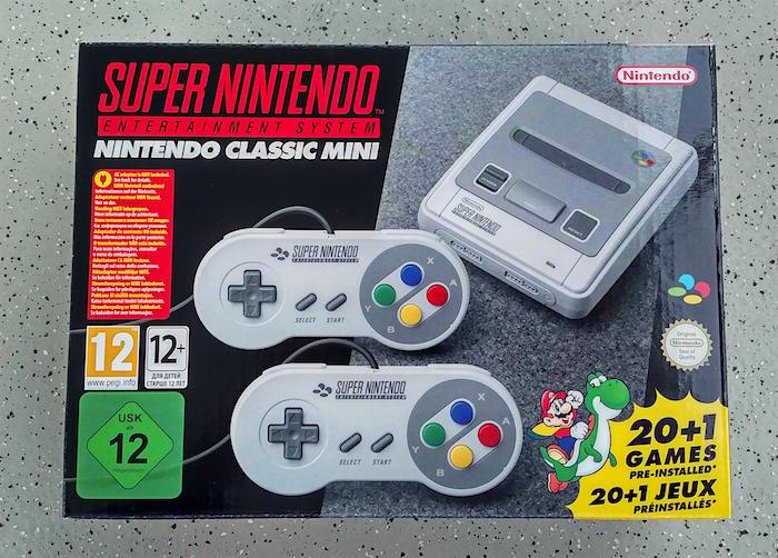 Nintendo SNES Classic Mini 01