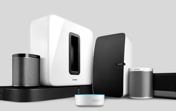 Sonos Produkte Alexa