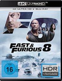 Fast Furious 8 Ultra HD Blu-ray