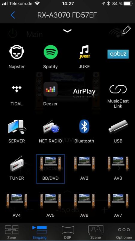 Yamaha AV_App8