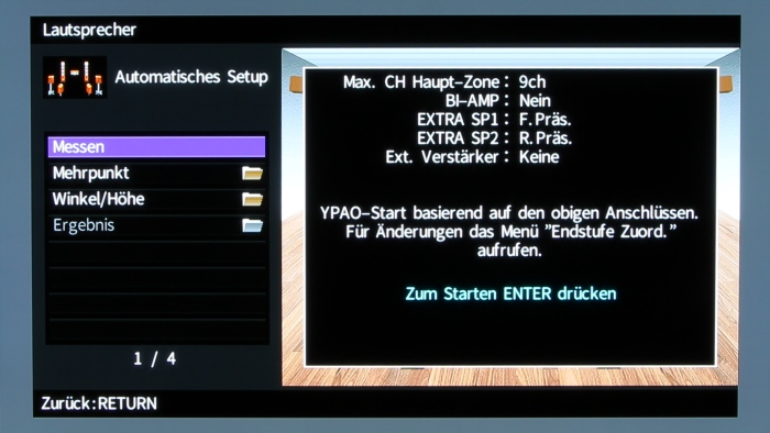 Yamaha RX-A3070 Screenshot 2