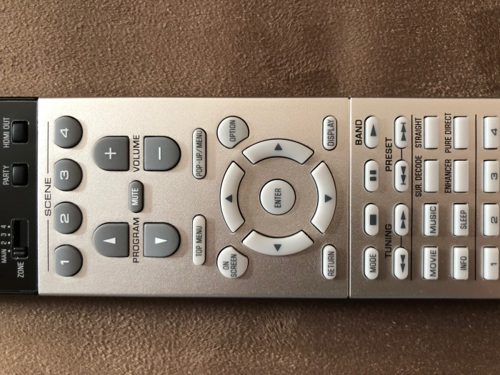 Yamaha RX-A3070_remote_detail