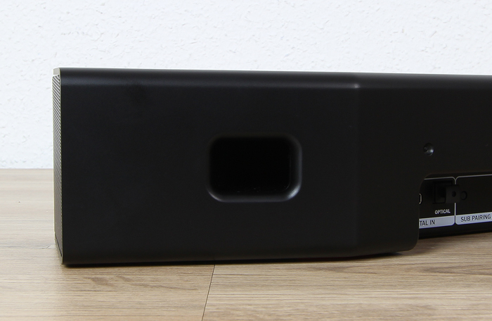 Teufel-Cinebar-One-Plus-Soundbar-Bassreflexoeffnung