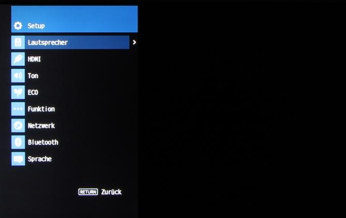 Yamaha RX-V483 Screenshot 1